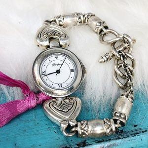 Brighton Bristol Silver Plate Bracelet Watch
